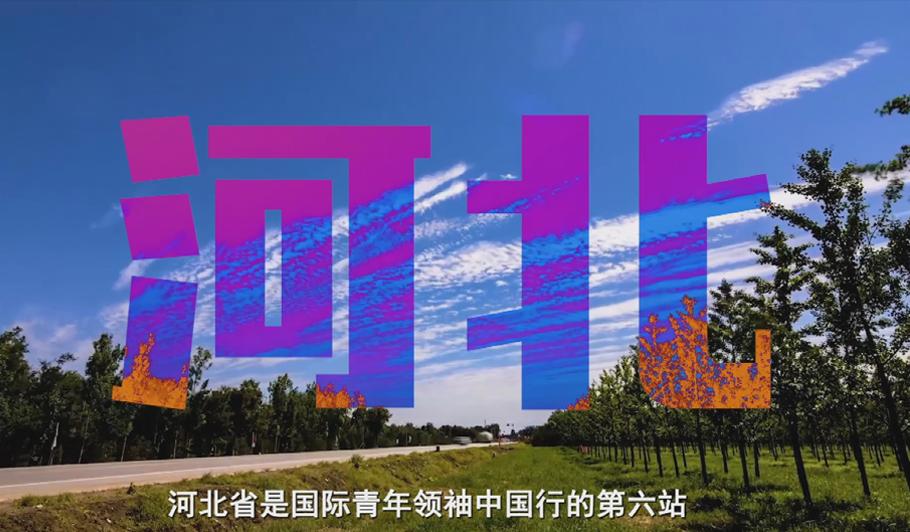 """国际青年河北行:传承历史 """"冀""""往开来"""