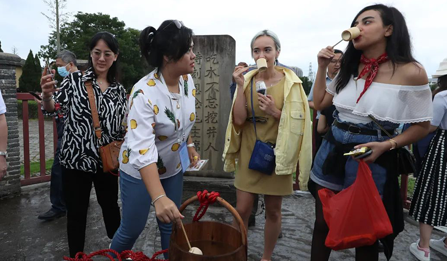 Conclusion of GYLD China Tours' fourth stop: Experiencing new vitality of old revolutionary base